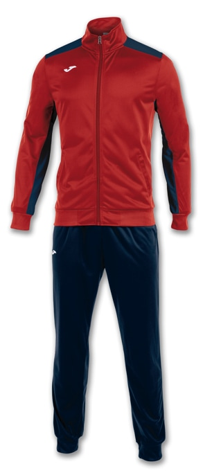 Joma Academy Tracksuit Set RED/NVY